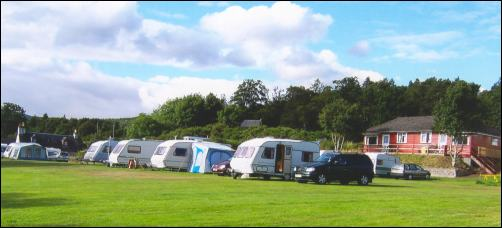 View of the Caravan park
